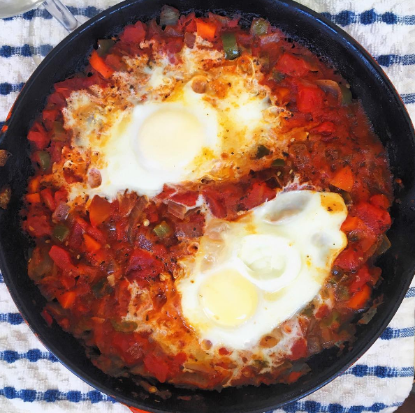 Red Hot Shakshuka